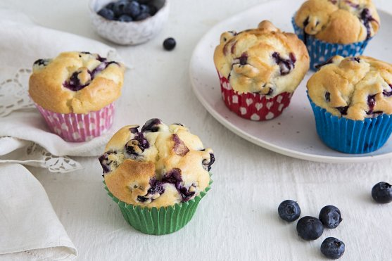 Muffins made with xylitol mix