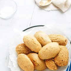 xylitol low sugar French Madeleines