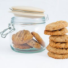 xylitol recipe orange and peanut butter biscuits