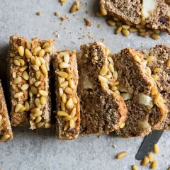 Vegan Pine Nut Xylitol Cake Recipe